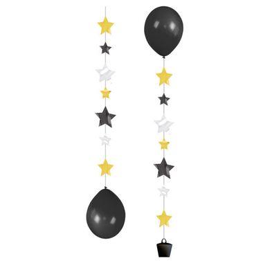 Dekor léggömbökhöz Stars