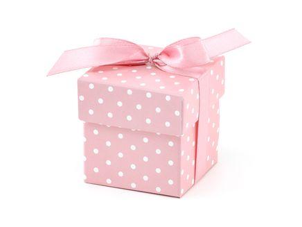Ajándékdoboz rózsaszín