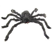Szőrös pók, fekete
