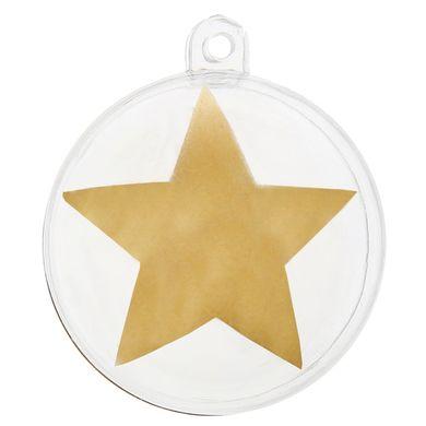 Dekorációs gömbök Star arany
