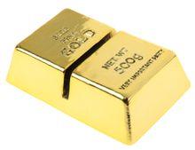 Névkártyatartó Arany tégla