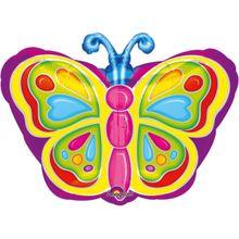 Fólia léggömb Pillangó