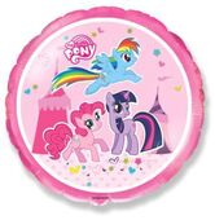 Fólia léggömb My Little Pony Trio