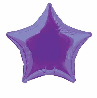 Fólia léggömb star lila (nem csomagolt)