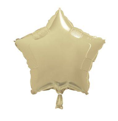 Fólia léggömb arany csillag (csomagolás nélkül)