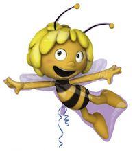 Fólia léggömb supershape Maja a méhecske