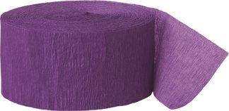 Krepp papír lila