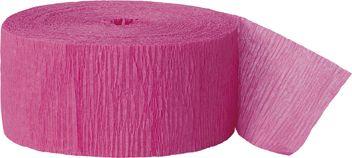 Krepp papír hot pink