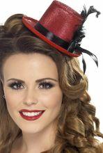 Mini kalap piros