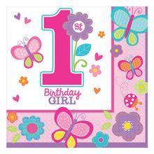 Szalvéta 1. születésnap B-day Girl