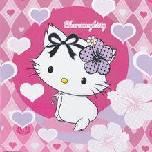 Szalvéta Charmmy Kitty hearts