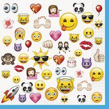 Szalvéta Cool Emoji