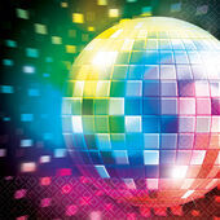 Szalvéta Disco Fever 70´s
