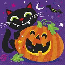 Szalvéta Happy Halloween