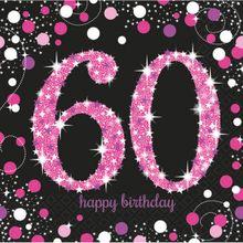 Szalvéta Pink Diamonds 60