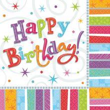 Szalvéta Radiant Birthday