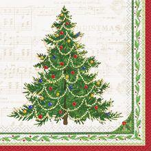 Szalvéta Hagyományos Karácsony