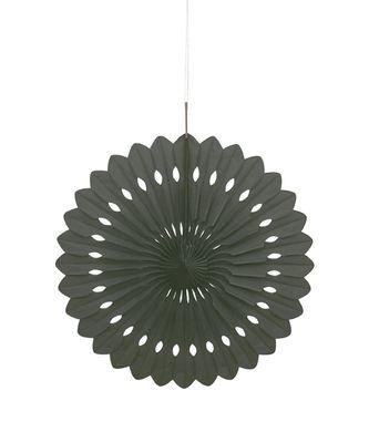Legyező dekoráció fekete