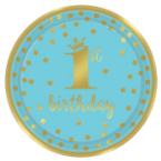 1. születésnap kék