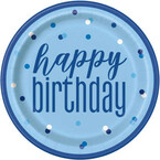 Birthday Blue parti