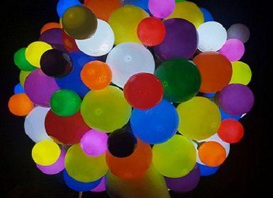 Világító LED léggömbök