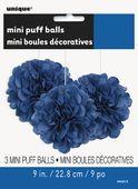 Mini pom pom gömb kék