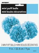Mini pom pom gömb világoskék