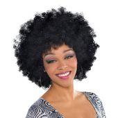 Fekete afro paróka
