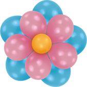 Léggömbdekoráció készlet Flower