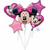 Léggömbcsokor Minnie Happy Helpers