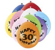 """Léggömb """"30"""" Brilliant birthday"""