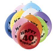 """Léggömb """"40"""" Brilliant birthday"""