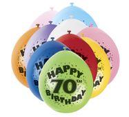 Léggömb 70. születésnapi