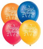 Léggömb Brilliant Birthday