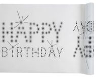 Asztali futó Happy Birthday