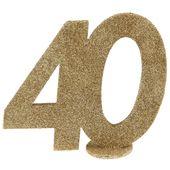 """Számdekoráció """"40"""""""