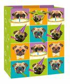 Ajándéktáska Pug Birthday