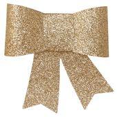 Masni dekoráció arany