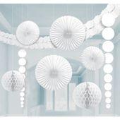 Dekorációs szoba készlet fehér