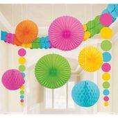 Dekorációs szoba készlet multicolor