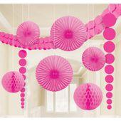 Dekorációs szoba készlet rózsaszín