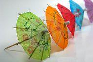 Dekorációs koktél esernyők