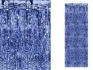 Hosszú parti függöny kék