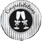 Fólia léggömb Congrats