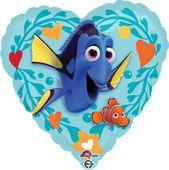 Fólia léggömb Szenilla szív