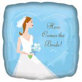 Fólia léggömb Here Comes the Bride