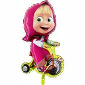 Fólia léggömb Mása tricikli
