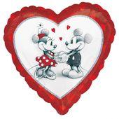 Fólia léggömb Mickey & Minnie Love