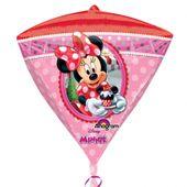 Fólia léggömb Minnie - gyémánt
