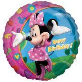 Fólia léggömb Minnie Happy Birthday